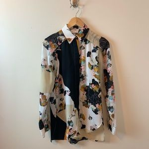 3.1 Phillip Lim for Target Floral Button Down Top